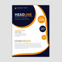 Zakelijke brochure sjabloon vector