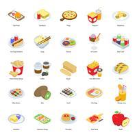 Fast-food pictogrammen