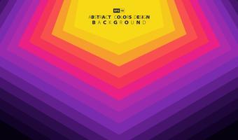Abstract kleurrijk geometrisch patroon backgorund. vector