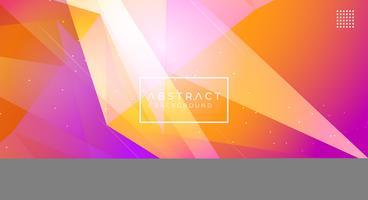 Moderne abstracte veelhoekige achtergrond