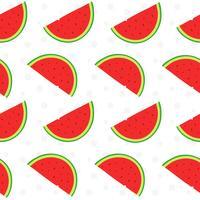 Watermeloen fruit patroon