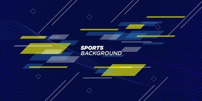 Geometrische Sportachtergrond