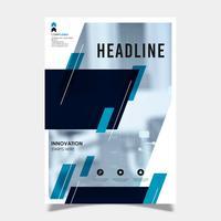 Zakelijke brochure sjabloonontwerp vector