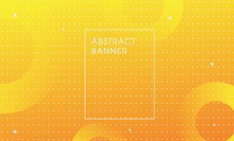 Gele kleuren achtergrondkunstvector. vector