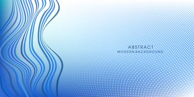 Abstracte vlotte blauwe kleurenvector vector