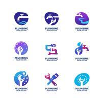 Moderne sanitair pictogrammen
