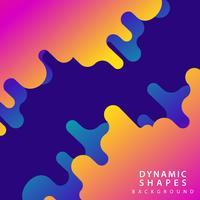 moderne abstracte dynamische achtergrond vector
