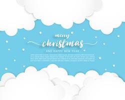 vrolijk kerst sneeuw