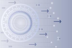 Abstracte technische achtergrond Hi-tech communicatie digitale achtergrond