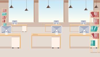 Modern bedrijf kantoor interieur