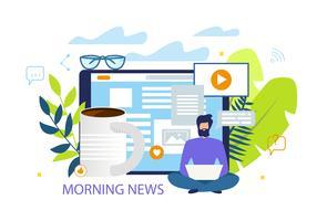 ochtend nieuws