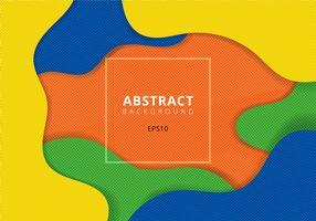 Golvende geometrische dynamische achtergrond met halftone textuur