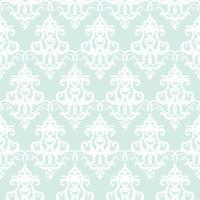 Achtergrond van het damast de naadloze pastelkleur blauwe patroon vector