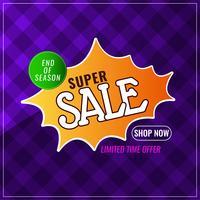 Abstracte super verkoop kleurrijke achtergrond