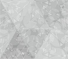 Geometrische monochrome lijnen