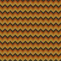 Geometrisch gebreid chevronpatroon