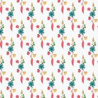 Vintage abstract floral achtergrondontwerp vector