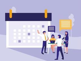 Planning Data Meeting vector