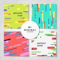 De abstracte kleurrijke bundel van het lijnenpatroon