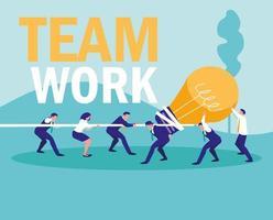 Zakelijk teamwerk vector