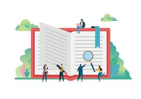 Open boeken verbeelding concept. Wereldboekendag, 23 april.