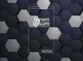 Abstract zeshoekig patroon