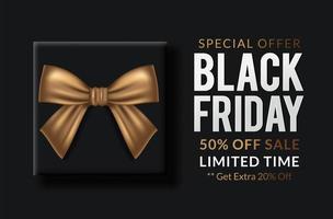 Black Friday-uitverkoop vector
