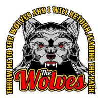 T-shirtontwerp The Wolves vector