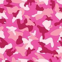 Roze Camouflage naadloos kleurenpatroon