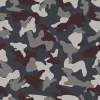 Gray Camouflage naadloos kleurenpatroon