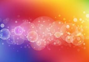 Abstracte kleurrijke bokehachtergrond