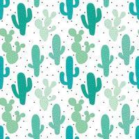Schattig groen naadloos patroon vector