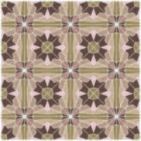 Retro bruin geometrisch naadloos patroon