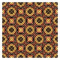 Aarde kleuren geometrische naadloze patroon