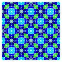 Optische illusie geometrische naadloze patroon