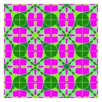 Retro-stijl geometrisch naadloos patroon