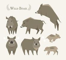 Wild zwijn set