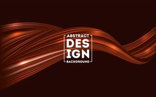 abstracte bruine stroom achtergrond, chocolade stroom Mesh achtergrond vector