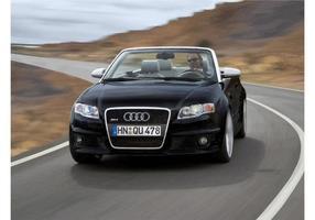 Audi rs4 convertible vector