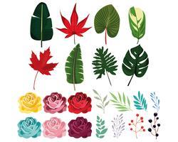 Set van natuur pictogrammen vector