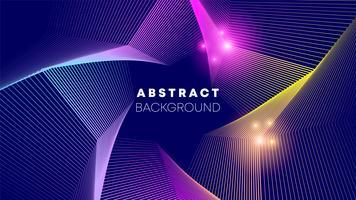 Star wave abstracte achtergrond