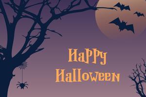 Happy Halloween-achtergrond vector