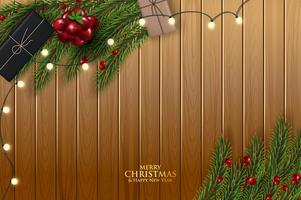 Christmas wenskaart vector