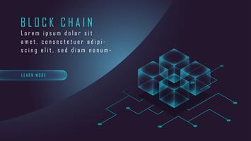Cryptocurrency en blockchain isometrisch