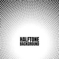 Halftone cirkel verloop achtergrond