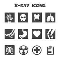 x-ray pictogrammen symbool