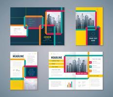 Presentatie ontwerpset vector