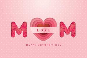Happy Mothers Day-kaart