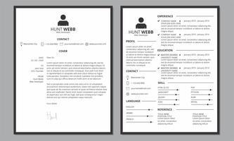 CV CV Cover schoon zwarte rand