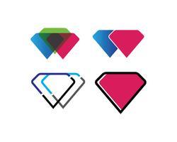 diamant icon set